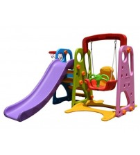 PLAYGROUND 3 IN 1 (SLIDE , SWING , BASKETBALL ) ,