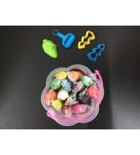 PP08-COLOURFUL PLAYDOUGH DENGAN 4 AKSESORI