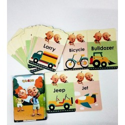 UP118-FLASHCARDS VEHICLES UPIN & IPIN