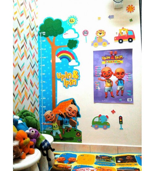 UP122- PAKEJ 1 WALL DECO UPIN & IPIN